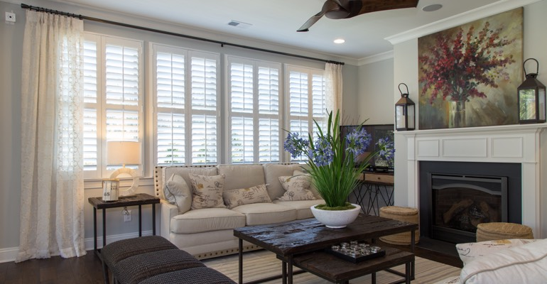 Plantation Shutters in Denton, TX | Sunburst Shutters