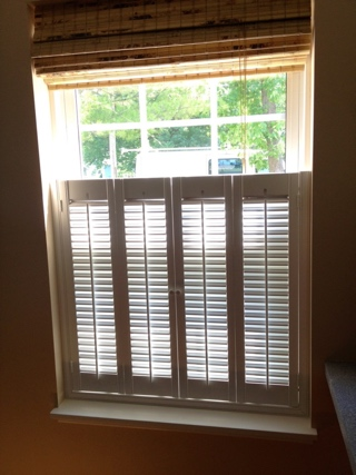 Cafe Shutters Style With Divider