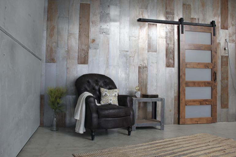 Dallas commercial barn door