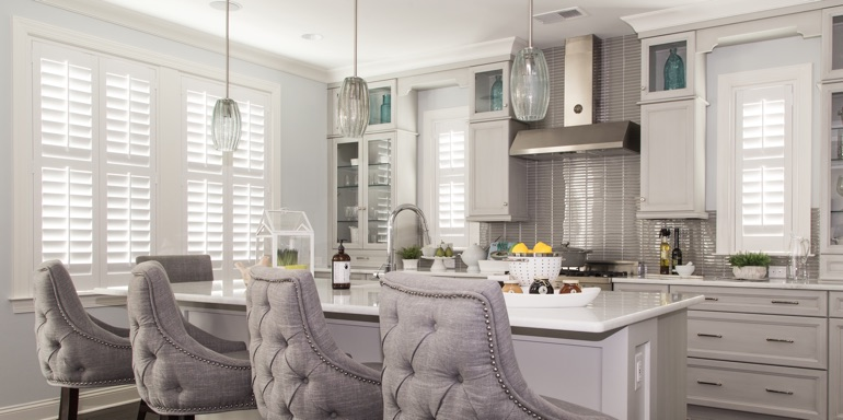 Dallas kitchen shutters