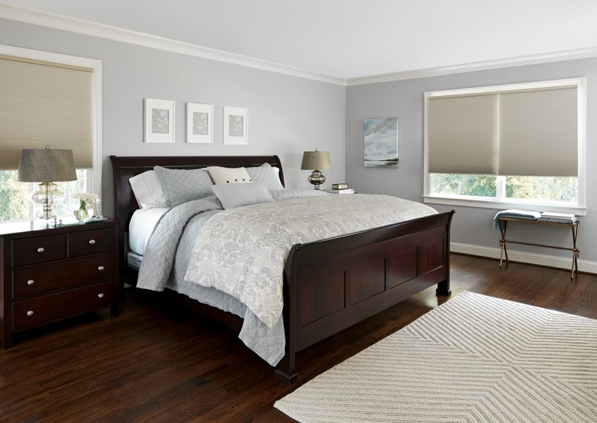 Dallas blackout shades bedroom