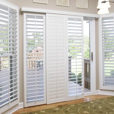 Dallas Sliding Patio Door Shutters