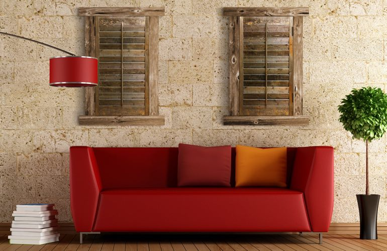 Reclaimed Wood Shutters In Dallas, TX