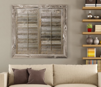 Reclaimed Wood Shutters Product In Dallas
