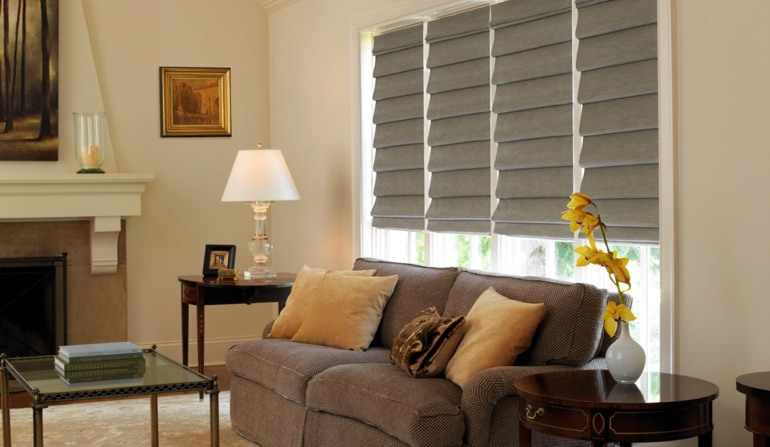 Roman Shades In Dallas, TX
