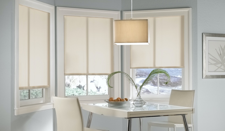 Dallas solar roller shades