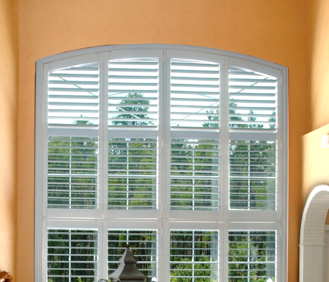 Arched Window Shutters In Dallas, TX