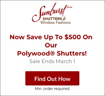 Sale on Dallas Polywood Shutters