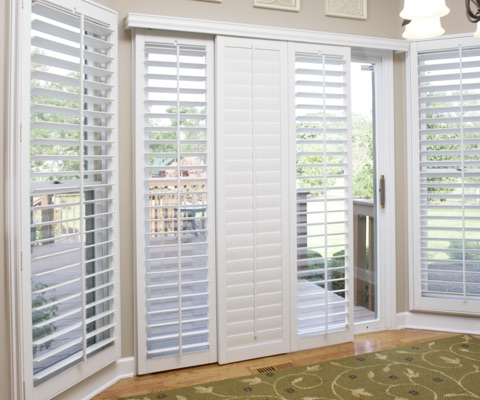 Texas sliding door shutters