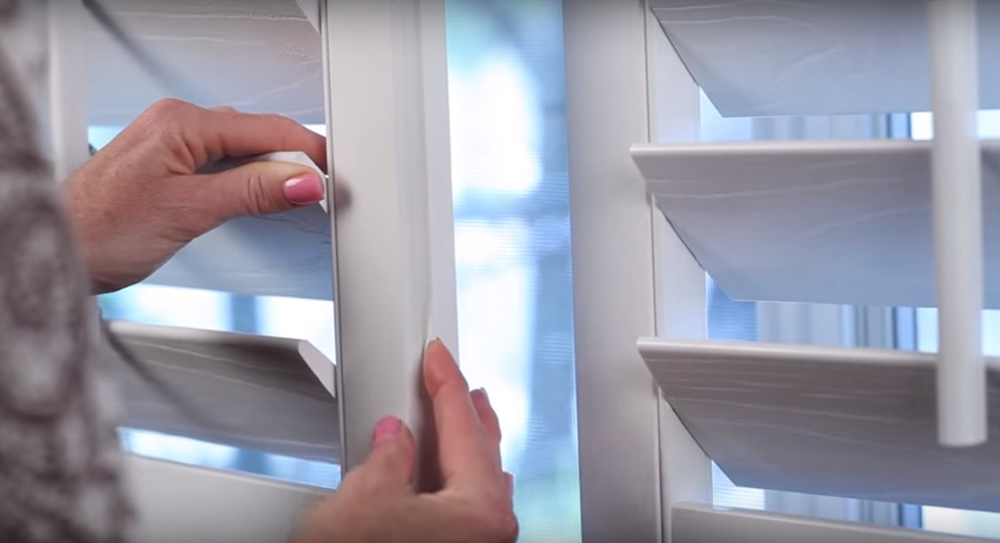 Interlocking The Weatherstripping On Your Energy Efficient Shutters