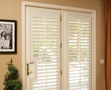 Dallas french door shutters