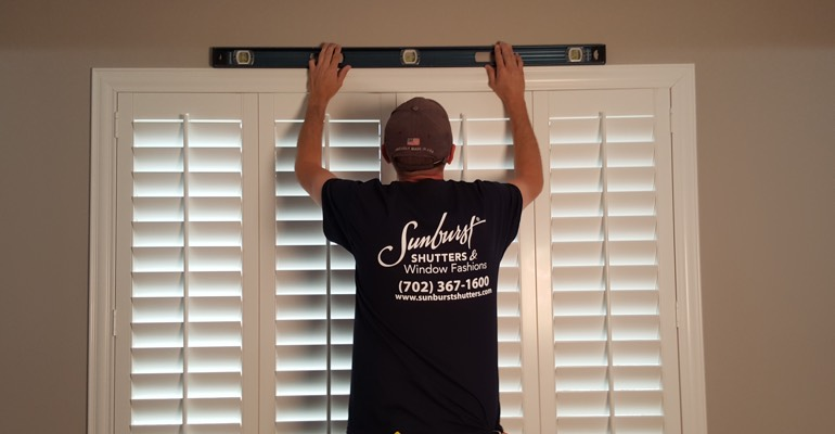 Dallas window shutter measurement