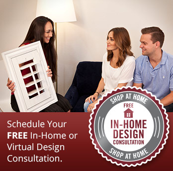 Schedule a shutter consultation in Dallas