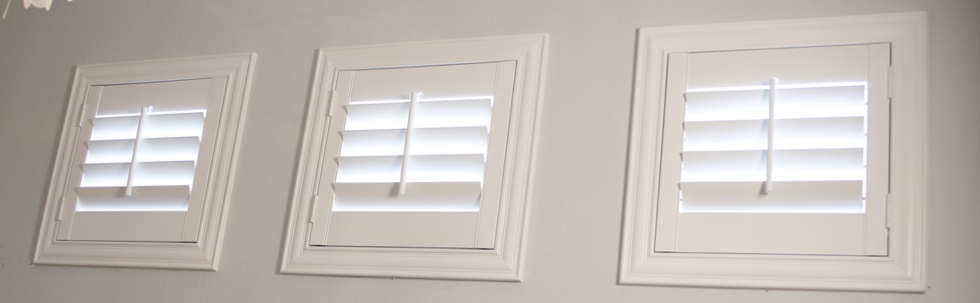 Dallas casement window shutter.